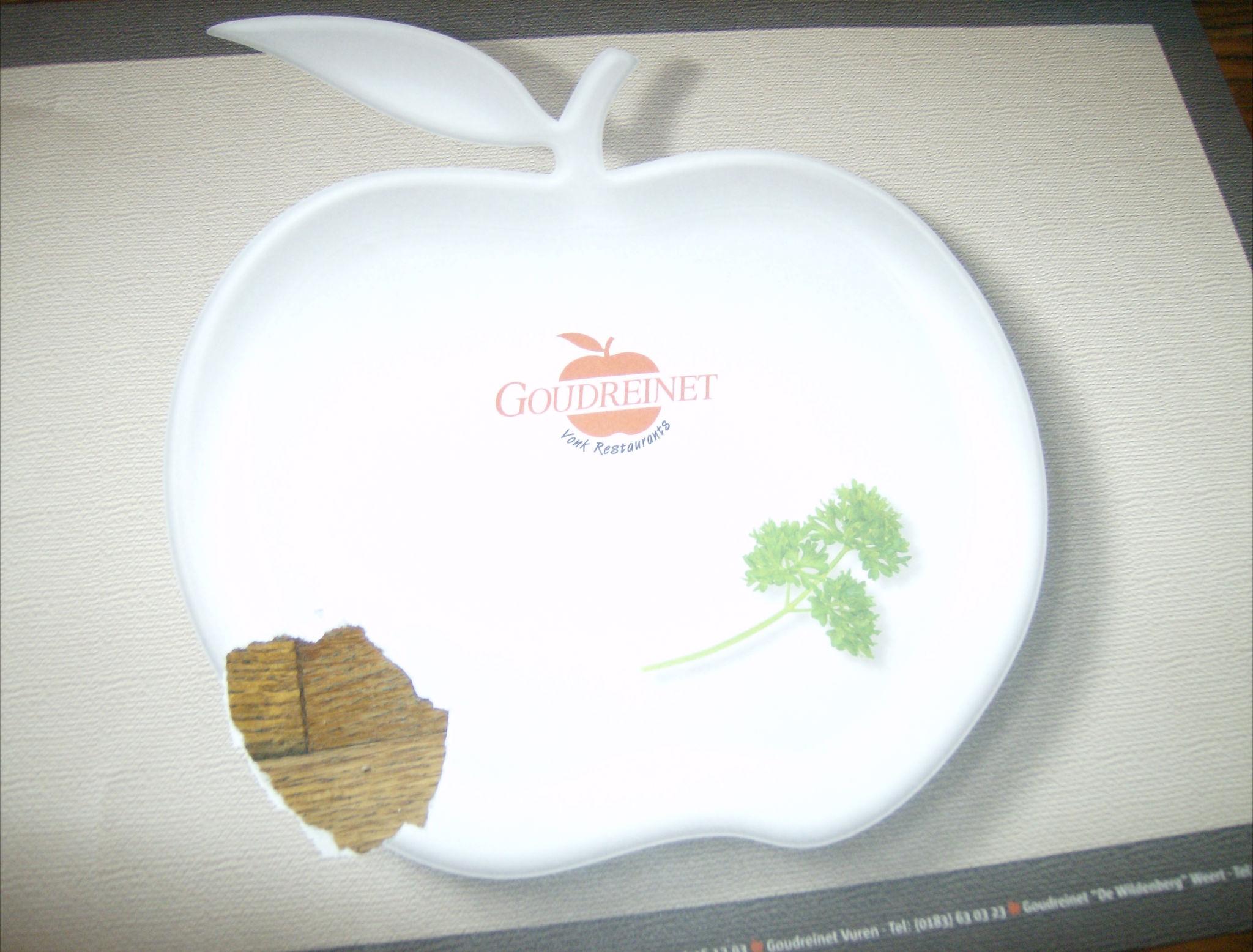appeltje bij de Goudreinet