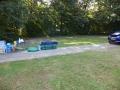 Woensdagmorgen 9.00 uur op de camping